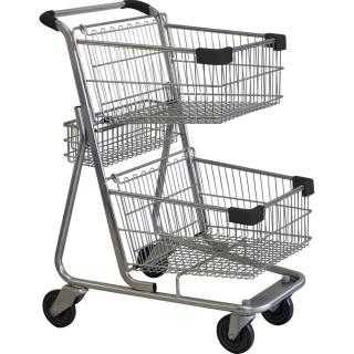 Twin Basket Black Shopping Trolley - W222-ZSSSS30300.jpg