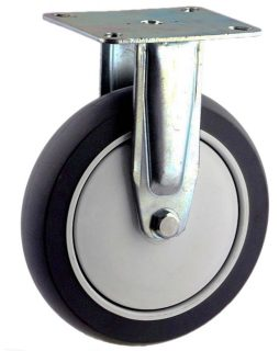ZINC PLATED RIGID MOUNT CASTER WITH ELASTOMER WHEEL - MZR15032-TPB.jpg