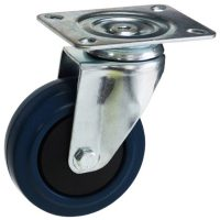 ZINC PLATED SWIVEL PLATE MOUNT CASTER WITH RUBBER WHEEL - MZS10032-BPB.jpg
