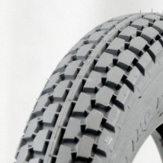 Grey Foam Filled Tyre - Power Plant Tread .jpg