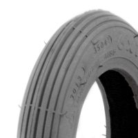 Grey Foam Filled Tyre - Spirit Tread.JPG
