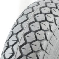 Grey Pneumatic Tyre - Diamond Tread.jpg