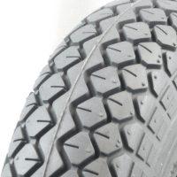 Grey Pneumatic Tyre - Diamond Tread.jpg