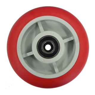 PU Rounded (Red) Wheel 200x50 - UPR20050B.jpg