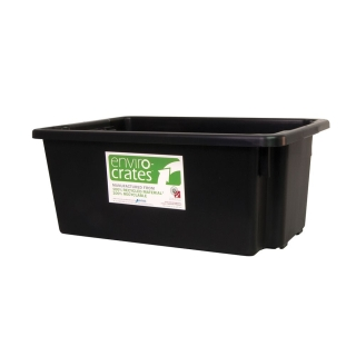 68L RECYCLED STACKING NESTING CRATE - Q-AP15R-BLK.jpg