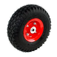 Foam Filled Wheel Two Piece Steel Rim STUD Tread - .FSSTUD350X4F12.jpg