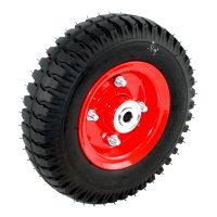 Foam filled Wheel Two Piece Steel Rim LUG Tread - .FSLUG250X4F12.jpg