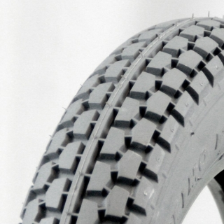 Grey Foam Filled Tyre - Power Plant Tread .jpg