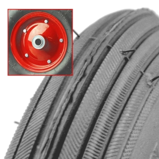Grey Foam Filled Wheel Two Piece Steel Rim RIB Tread - FSRIB200-50GF20.jpg