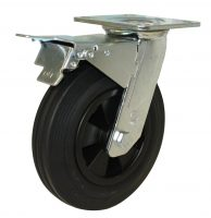 Heavy Duty Castor (Swivel Plate+Brake, Solid Rubber) - HZST20050-BKRP.jpg