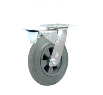 Heavy Duty Castor Swivel Plate + Brake - HZST20050-GPR.jpg