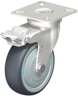 Light Duty SS Swivel Braking Castor (TPE Wheel) - LPXA-TPA75KD-FI-FK.jpg