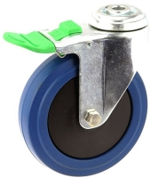 MEDIUM DUTY ZINC PLATED BOLT HOLE CASTER BLUE RUBBER LOCK - MZHD12532-BPB.jpg