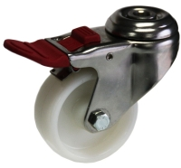 Medium Duty Bolt Hole Mount Castor With Brake - MSHT07532-NNI.JPG