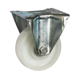 Medium Duty Steel Castor (RIGID PLATE, Nylon Wheel) -DZR10036-NNB.jpg