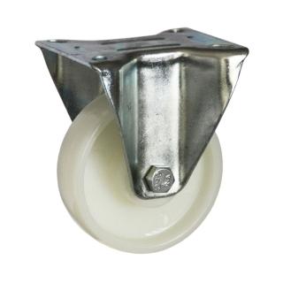 Medium Duty Steel Castor (RIGID PLATE, Nylon Wheel) -DZR10036-NNP.jpg