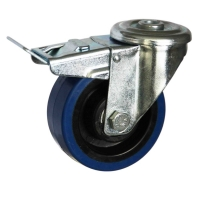Locking Rubber Casters