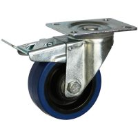 Medium Duty Steel Castor (SWL plate, PU Wheel) - DZST10036-BPB.jpg