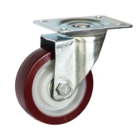 Medium Duty Steel Castor (swl PLATE, PU Wheel) -DZS10036-UNB.jpg
