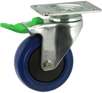 Medium Duty Swivel Castor With Directional Lock Brake - MZSD10032-BPB.JPG