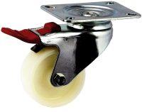Medium Duty Swivel Plate Mount Castor With Solid Nylon Wheel - MZST07532-NNI.jpg