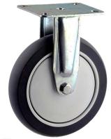 ZINC PLATED RIGID MOUNT CASTER WITH ELASTOMER WHEEL - MZR15032-TPB.jpg
