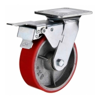 150mm Heavy Duty Swivel Castor with brake - HZST15050-UCIR.jpg