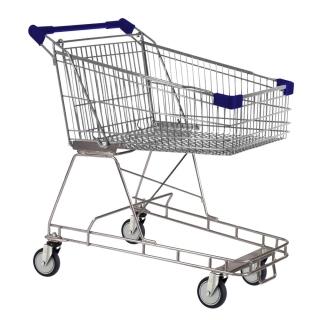 100 Litre Blue Supermarket Shopping Trolley Cart - T100-ZSSSS20220.jpg