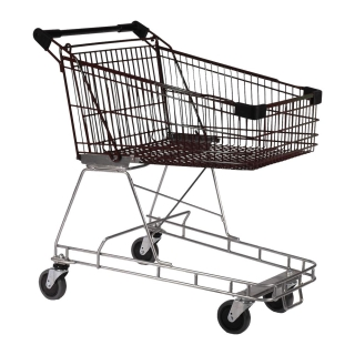 100 Litre Nylon - Supermarket Shopping Trolley Blk - T070-NSSSS30330.jpg