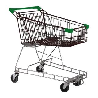 100 Litre Nylon - Supermarket Shopping Trolley Green - T070-NSSSS40440.jpg