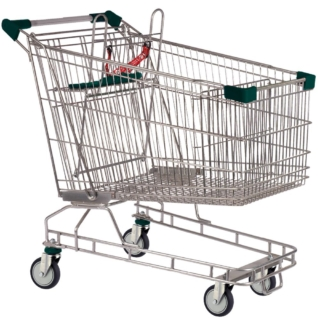 212 Litre Shopping Trolley Dark Green- T212-ZSSSS5555.jpg