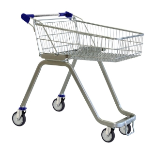 70 Litre Supermarket Shopping Trolley Cart - T070-ZSSSS20220.jpg