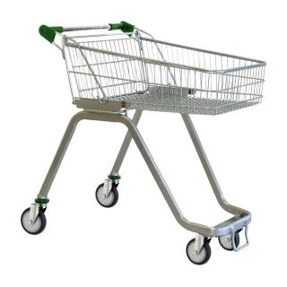 70 Litre Supermarket Shopping Trolley Cart - T070-ZSSSS40440.jpg