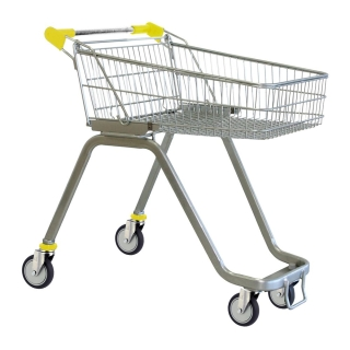 70 Litre Supermarket Shopping Trolley Cart - T070-ZSSSS60660.jpg