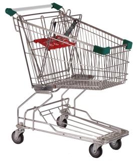 90 Litre Dark Green Shopping Trolleys Carts - T090-ZSSSS51501.jpg